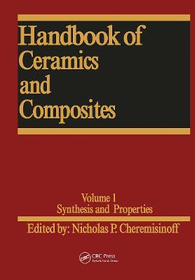 Handbook of Ceramics and Composites by Walter Theodore Federer