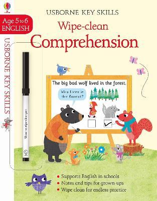 Wipe-Clean Comprehension 5-6 book