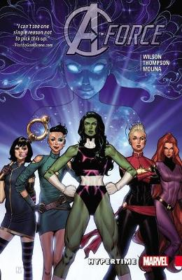 A-force Vol. 1: Hypertime by Jorge Molina