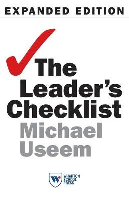 Leader's Checklist, Expanded Edition by Michael Useem