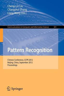 Pattern Recognition by Cheng-Lin Liu