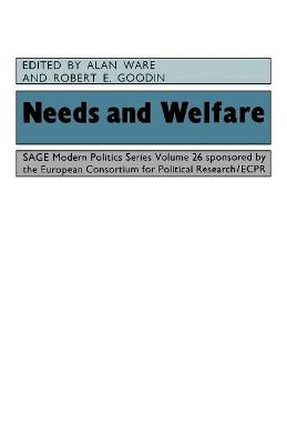 Needs and Welfare by Alan J. Ware