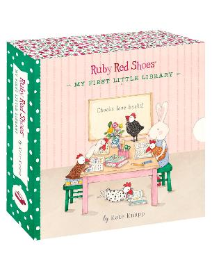 Ruby Red Shoes: My First Little Library by Kate Knapp
