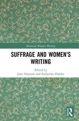 Suffrage and Women's Writing book