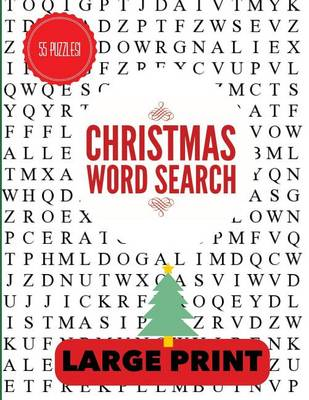 Christmas Word Search Large Print by Puzzle Pyramid