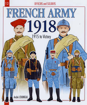 French Army 1918 book
