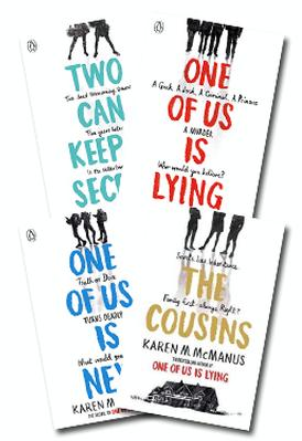 One of Us Is Lying Set of 4 book