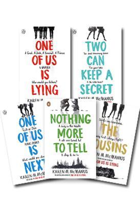 One of Us Is Lying Set of 4 by Karen McManus