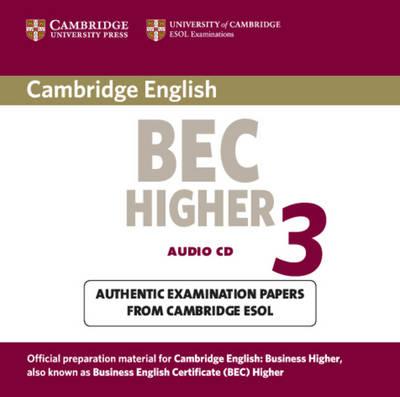 Cambridge BEC Higher 3 Audio CD book