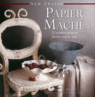 New Crafts: Papier Mache book