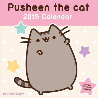 Pusheen the Cat 2015 Calendar by Claire Belton