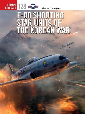 F-80 Shooting Star Units of the Korean War book