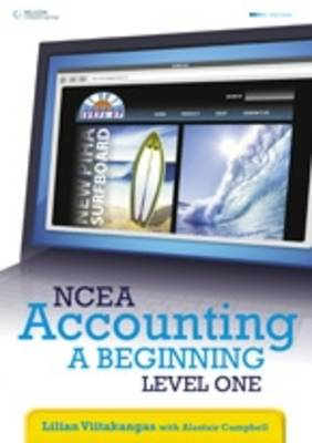 NCEA Accounting - A Beginning: Level 1 Year 11 book