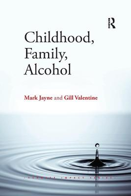Childhood, Family, Alcohol by Dr. Mark Jayne