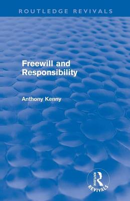Freewill and Responsibility book