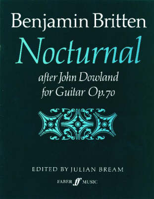 Nocturnal After John Dowland by Benjamin Britten