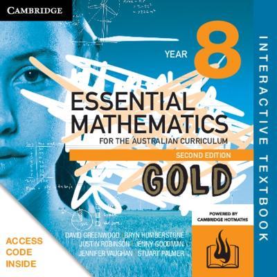 Essential Mathematics Gold for the Australian Curriculum Year 8 Digital (Card) by David Greenwood