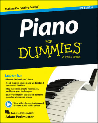 Piano For Dummies book