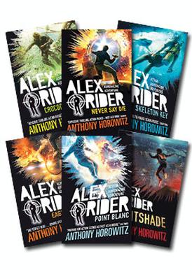 Alex Rider - Set of 13 (Newest Editions) by Anthony Horowitz