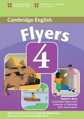 Cambridge Young Learners English Tests Flyers 4 Student's Book book