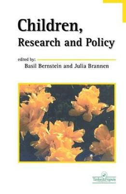 Children, Research And Policy book