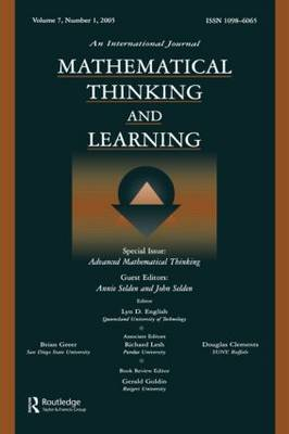 Advanced Mathematical Thinking by Annie Selden