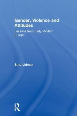 Gender, Violence and Attitudes book