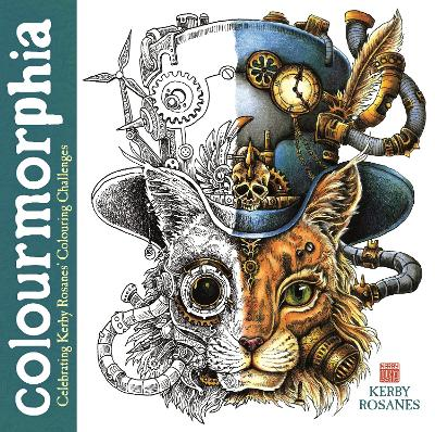 Colourmorphia: Celebrating Kerby Rosanes' Colouring Challenges book