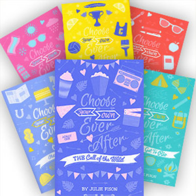 Choose Your Own Ever After - Set of 6 by Kate Welshman