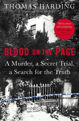 Blood on the Page book
