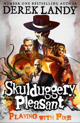 Skulduggery Pleasant #2: Playing With Fire by Derek Landy