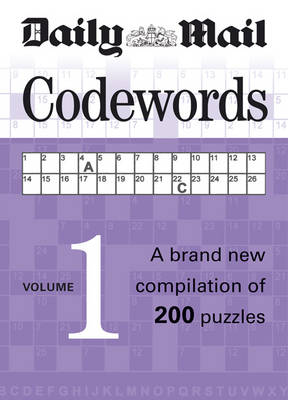 Codewords: A Brand New Compilation of 200 Puzzles: v. 1 by Hamlyn