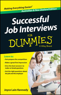 Successful Job Interviews for Dummies, Australian & New Zealand Edition by Kate Southam