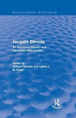 Jacques Derrida book