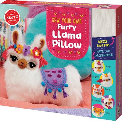 Sew Your Own Furry Llama Pillow by Editors of Klutz