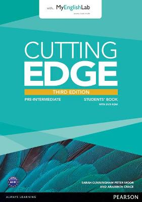 Cutting Edge 3rd Edition Pre-Intermediate Students' Book with DVD and MyEnglishLab Pack book