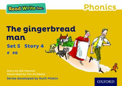 Read Write Inc. Phonics: Yellow Set 5 Storybook 4 The Gingerbread Man book