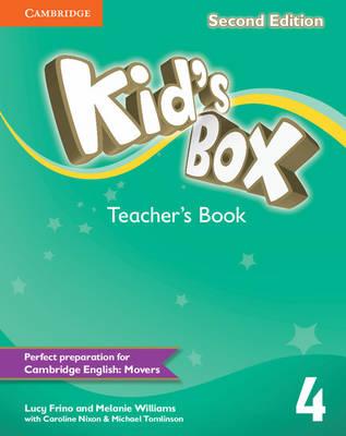 Kid's Box Level 4 Teacher's Book by Lucy Frino