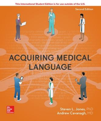 Acquiring Medical Language by Steven L. Jones