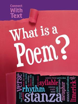 What is a Poem? by Charlotte Guillain
