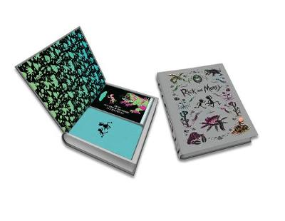 Rick and Morty Deluxe Note Card Set: With Keepsake Book Box by Insight Editions