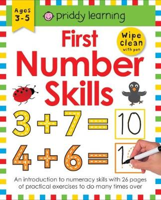 First Number Skills by Roger Priddy