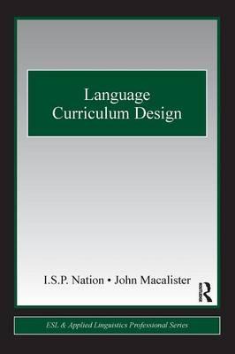Language Curriculum Design by John Macalister
