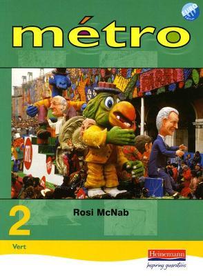 Metro 2 Vert Pupil Book Euro Edition book