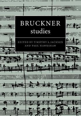 Bruckner Studies book