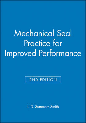Mechanical Seal Practice for Improved Performance book