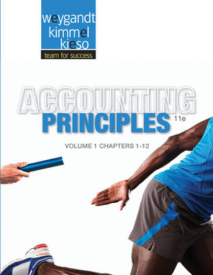 Paperback Volume 1 of Accounting Principles Chapters 1-12 11E by Jerry J. Weygandt