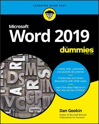 Word 2019 For Dummies book