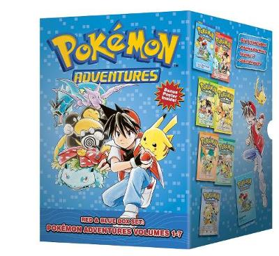 Pokemon Adventures Red & Blue Box Set by Hidenori Kusaka