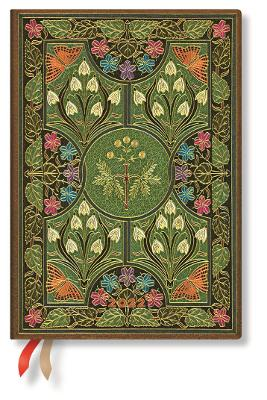 2022 Poetry in Bloom, Midi (Wk at a Time-Vertical) Diary: Hardcover, Vertical Layout, 100 gsm, elastic closure by Paperblanks